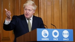 Boris Johnson confirms national four-week Covid lockdown